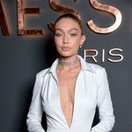 Paris france   september 27  gigi hadid attends messika cocktail as part of the paris fashion week womenswear  spring summer 2018 on september 27 2017 in paris france
